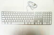 Portugal version A1243 Aluminum Wired USB Keyboard Thin w/ for macbook/ iMac