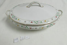 Beautiful Vintage Noritake Hand Painted Covered Vegetable Dish