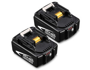 Batterie De Remplacement Makita 2X BL1850 18V 5.0Ah BL1850B BL1850 BL1860 BL1860