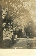 "A View of ""The Hedge"", Tilton Seminary, Tilton School, Tilton NH RPPC 1907"