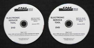 CUSTODIA HOLLAND CNH ELECTRONIC SERVICE TOOL SOFTWARE VERSION 6.1.0.0 JAN 2010