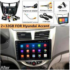 Car Radio MP5 GPS WIFI Mirror Link OBD For Hyundai Solaris Accent 10-16 2+32GB