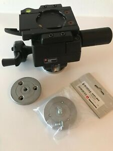 Manfrotto 400 3-Way Geared Pan-and-Tilt Head. Large Format Film Photography.