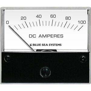 "Blue Sea 8017 DC Analog Ammeter - 2-3/4"""" Face, 0-100 Amperes DC"""""