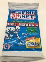 1991 Pro Set Football Series 1 Factory Sealed Pack Vintage Sports Sale