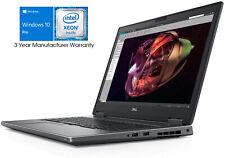 Dell 17.3 FHD Intel Xeon E-2176M 4.4GHz 2TB SSD 64GB RAM Precision M773 Win10 P