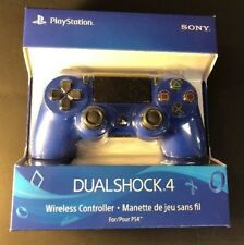Official Sony PS4 DualShock 4 Wireless Controller  [ Wave BLUE Edition ] NEW