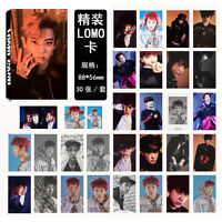 NEW 30pcs set Kpop EXO CHANYEOL Album EX'ACT Personal Photo Poster Lomo Card