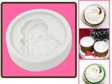 Katy Sue Designs Santa Face Cupcake Mould    FAST DESPATCH