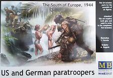 MASTER BOX™ 35157 WWII US & German Paratroopers 1944 FIGUREN in 1:35
