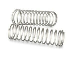 4 x Compression Springs Size 8mm Diameter 15mm Length long Pressure Small S/S