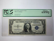 1935D $1 Note Fr#1613W PCGS Choice 63PPQ