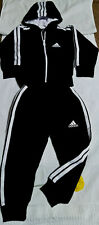 Kinder Sportanzug  schwarz/weiß für 4 Jahr Trainingsanzug Sporthose Fußball