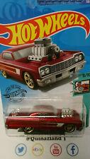 Hot Wheels '64 Chevy Impala 2020-058 rouge (NP21)