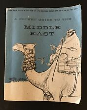 Pocket Guide to Middle East 1957, Department Defense,Us Gov.~Iraq,Iran,Egypt~Map