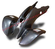 NEW HONDA TRX 400EX 05 - 07 BLACK CARBON FIBER FRONT FENDER PLASTIC TRX400EX