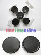 5x Rear lens and Body cap for L39 M39 39mm screw mount Wholesale lots 5 pcs