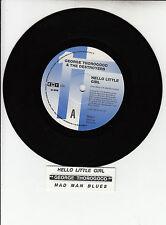"GEORGE THOROGOOD Hello Little Girl & Mad Man Blues record 7"" 45 rpm NEW RARE!"