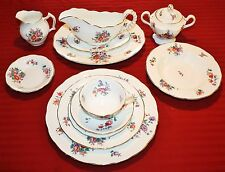 Royal Swansea Olde English Made in Great Britain 57 Pc China Set - MINT
