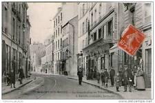 CPA 94 - NOGENT SUR MARNE - LA GRANDE RUE AU TELEPHONE - NOMBREUX PERSONNAGES