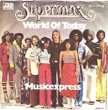 """7"" - SUPERMAX - World of today"