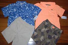 NWT Boys 5T CARTER'S Lot of 2 Shorts Sets CUTE ~ L@@K!