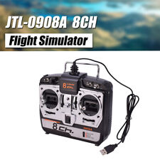 JTL-0904A 8CH RC Flight Simulator Support Real G7 Phoenix 5.0 XTR RC Drone MODE2