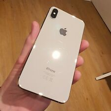 Apple iPhone XS Max - 64GB - Silver (Unlocked) - Cracked Screen