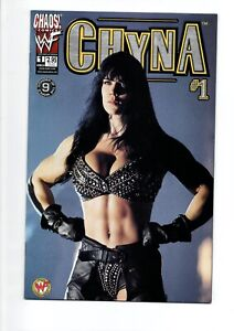 CHYNA #I and #II comics from CHAOS in 2000...Photo covers..4 ISSUES..ONLY $9.95!
