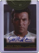 Complete Star Trek Movies A50 William Shatner Autograph Card