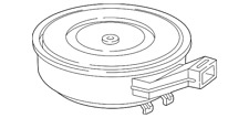 Genuine Ford Air Cleaner Assembly 3C2Z-9600-A