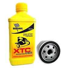 Kit tagliando Bardahl XTC 5W40 filtro olio originale Piaggio Beverly 400 / 500