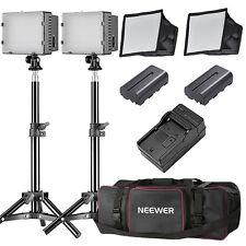 Neewer 2 Packs CN-160 LED Camera Photo Video Studio Lightning Kit