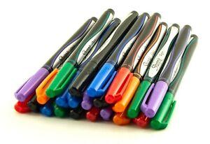 Sharpie Pen Lot 24pc 6 Ink Colors Fine Point Smear Resistant Acid Free