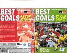 The FA Cup BEST GOALS OF 2006 / 2007 England Football Soccer DVD 80mins. SBS