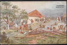 Austrian Exhibition Postcard - Earl's Court, London -  Battle of Isel  DR233