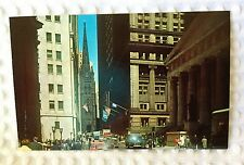 Nester's Map & Guide - New York City - Postcard - Wall Street