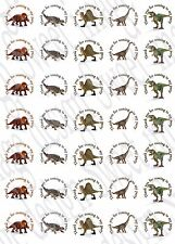 Dinosaur inspired ~ Labels ~ Stickers ~Party~ sweet cone bags ~ T-Rex