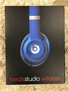 Beats by Dr. Dre Studio 2.0 Wireless Over the Ear Headphones - Blue