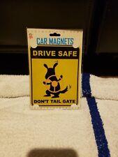 Dog Car Magnet Drive Safe Dont Tail Gate