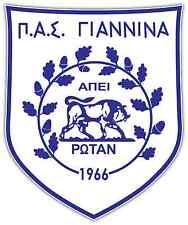 """PAS Giannina FC Greece Football Soccer Car Bumper Sticker Decal 4""""X5"""""""