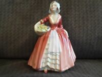 Royal Doulton  Figurines HN 1537 JANET LADY GIRL WITH FLOWERS LOOKS NEW!