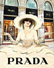 Haute Couture   Prada Art Deco  art   Print