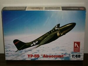 """Hobby Craft 1/48 Scale Bell YP-59 """"Airacomet"""""""