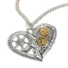Markenlose Modeschmuck-Halsketten & -Anhänger für Damen mit Liebe- & Herzen