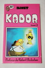 KADOR TOME 2 BINET BIDOCHON 1988 BD