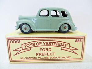 ODGI 856 'FORD PREFECT' LIGHT GREEN. SUPERB/BOXED. VINTAGE. ORIGINAL.