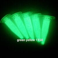 YG1150XL 25g GRÜN STARK Pigment f. Lack Epoxid Harz Bastel Tisch Leucht Pulver