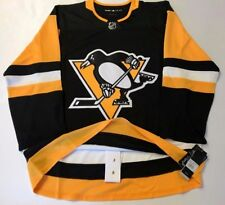 PITTSBURGH PENGUINS size 56 = size XXL  ADIDAS HOCKEY JERSEY Climalite Authentic