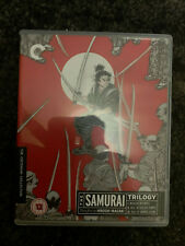 SAMURAI TRILOGY UK CRITERION COLLECTION UK 2 DISC BLU RAY MINT CONDITION